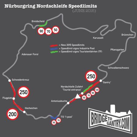 Nürburgring detiene los récords de fabricantes e impone límites de velocidad
