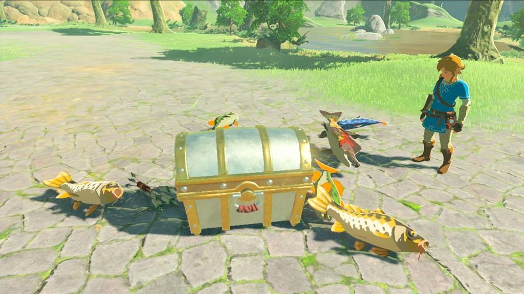 Silbando sin parar: así es la mejor forma de pescar peces en The Legend of Zelda: Breath of the Wild en unos segundos