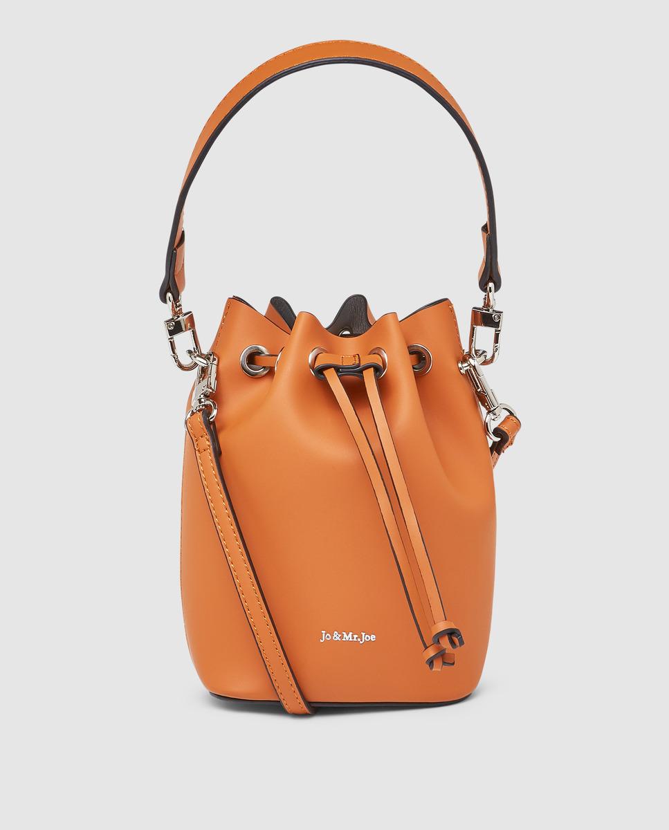 Bolso estilo saco naranja de Jo & Mr Joe