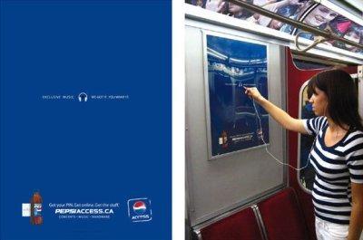 Novedosa campaña publicitaria de Pepsi en China Canadá