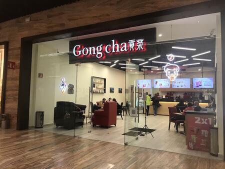 Gong Cha Plaza Terraza Coapa Mexico Cdmx Bubble Tea