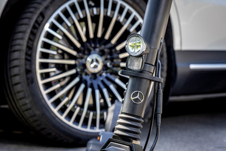 Mercedes Benz E Scooter 1