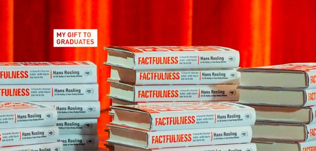Bill Gates quiere regalar este libro a todo el que se gradúe en una universidad: echamos un vistazo al interior de 'Factfulness'