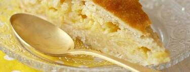 Tarta Shaker de limón, receta