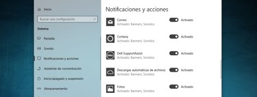 Cómo desactivar todas las notificaciones en Windows 10