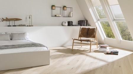 La calidez de la madera y la funcionalidad del gres cerámico se unen en Par-Ker de Porcelanosa