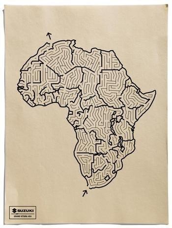 Escapa de África en un Vitara