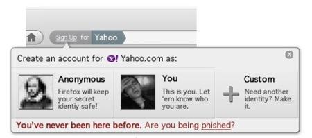 weave mozilla firefox yahoo phishing