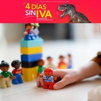 Días sin IVA en Toys 'r us: juguetes de Playmobil, Pinypon o Lego rebajados hasta el 9 de junio
