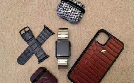 Así son los accesorios para iPhone, Apple Watch y AirPods de Suritt: correas y fundas de cuero hechas en España