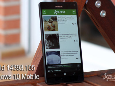 Microsoft lanza la Build 14393.105, una nueva actualización para Windows 10 Mobile