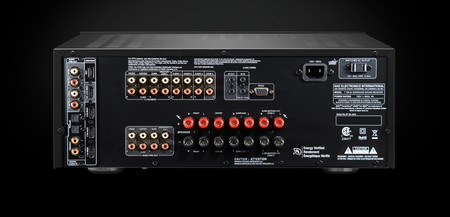 Nad T 758 V3 Rear On Black