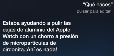Siri se convierte en la herramienta de marketing perfecta para promocionar el Apple Watch