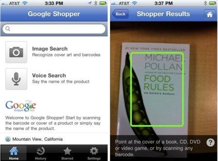 Google Shopper llega al iPhone para ayudarnos a ahorrar unos cuantos euros