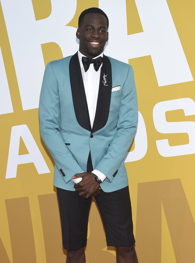 Draymond Green en los NBA Awards