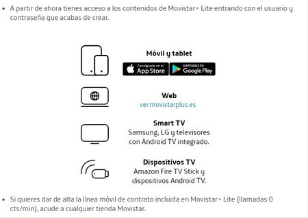Movistar Dispositivos
