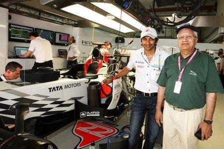Narain Karthikeyan cerca de ser segundo piloto de HRT