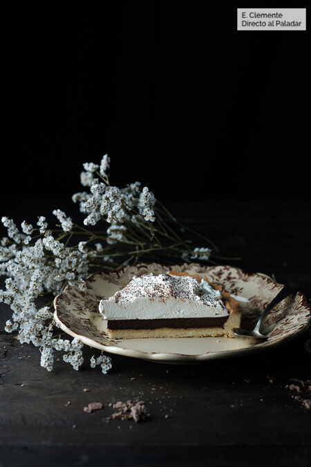 Tarta De Chocolate Con Whisky Y Chantilly De Sirope De Arce