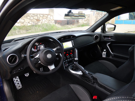 Prueba Toyota Gt86 Interiores