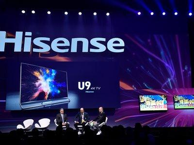 Hisense aprovecha el CES 2018 de Las Vegas para enseñarnos nuevos televisores y una app para los más futboleros