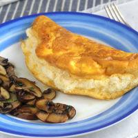 La tortilla más esponjosa del mundo mundial. Receta de desayuno