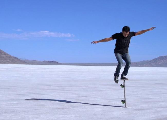 Este fantástico vídeo de skateboarding es todo un lujo para tus ojos
