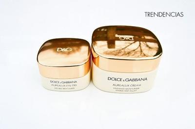 Probamos el contorno de ojos y la crema facial Aurealux de Dolce & Gabbana: di adiós a la piel apagada