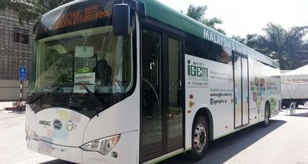 Kuala Lumpur pone en servicio una línea con 15 autobuses eléctricos de BYD