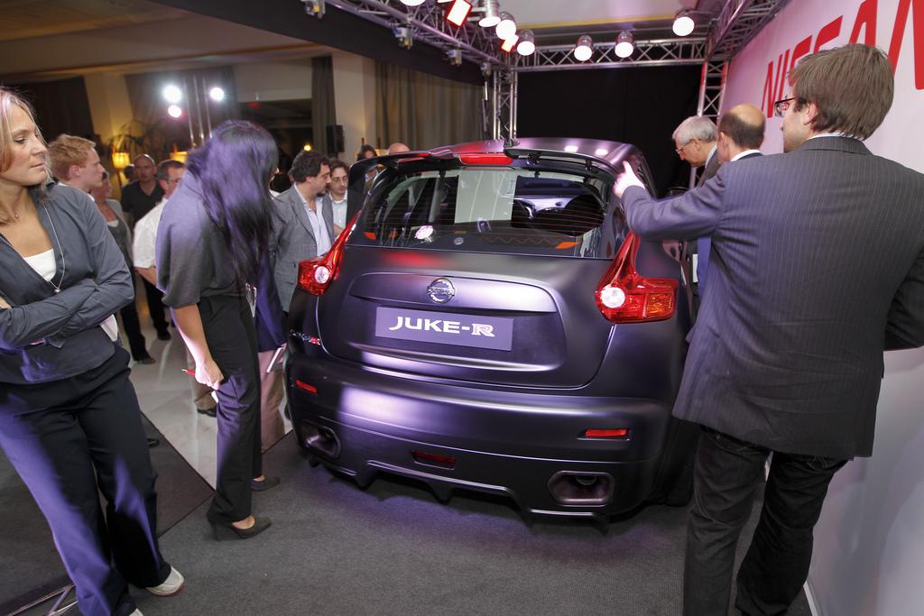 Foto de Nissan Juke-R (5/12)