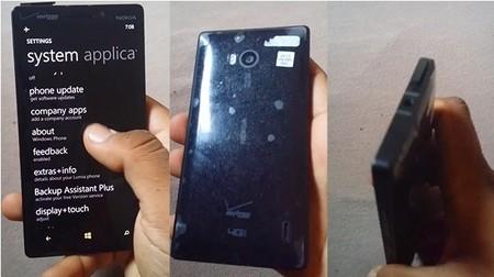 Se filtra un vídeo del futuro Lumia 929 de Verizon: 5 pulgadas, 20 Mpx, acabado aluminio