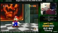 ¿Pasarse el Mario 64 con los ojos vendados? Este usuario de Twitch lo está intentando