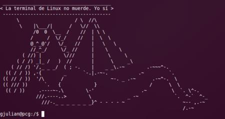 La terminal de Linux no muerde (I): uso básico de la terminal
