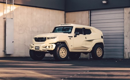 Rezvani Tank, un SUV con look militar para sacar a ese Rambo que llevamos dentro