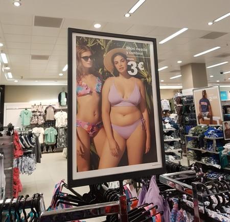Primark incluye a una modelo «curvy» en su campaña de bikinis (y en las redes se crea la polémica)