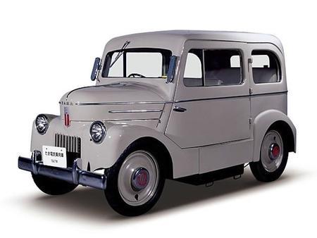 Nissan restaura una unidad del Tama EV, un coche eléctrico de 1947
