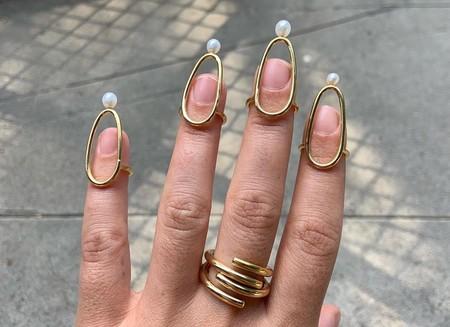 Así son los anillos de uñas con los que no necesitaremos manicura para presumir de manos perfectas