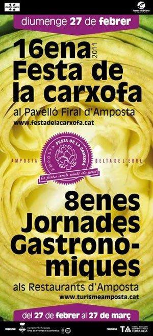 16ª Fiesta de la alcachofa en Amposta de Tarragona