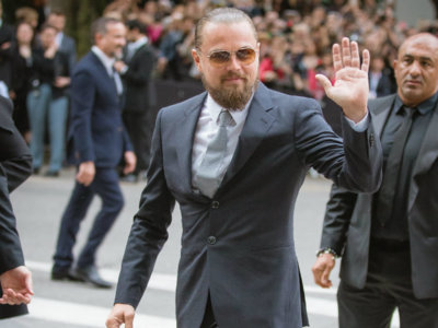 """Creo que """"indigestión"""" es la palabra que mejor define el nuevo look barbudo y repeinado de Leonardo di Caprio"""