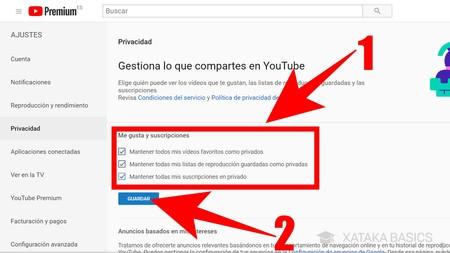 Youtube Cómo Mejorar Su Privacidad Ocultando Tus Datos