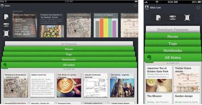 Evernote lanza una actualización en profundidad para IOS