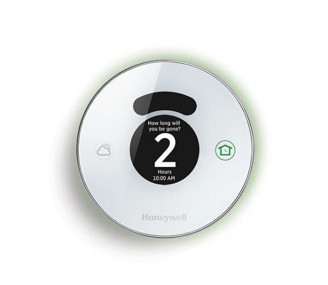 Este precioso termostato sabe por dónde andas y te pone la casa a punto
