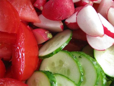 Las verduras y la digestión