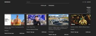 Invidious, la plataforma libre que nos permite seguir accediendo a YouTube sin que Google nos rastree (y descargar vídeo y audio)
