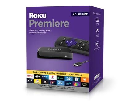 Roku Premiere 4K de oferta en Amazon México