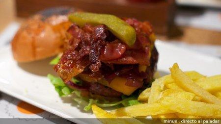 Mediterránea de hamburguesas - hamburguesa chicago