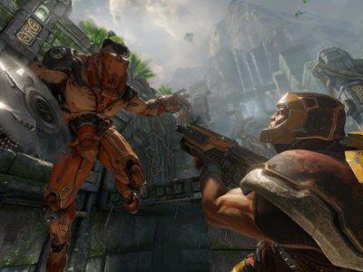 Quake Champions muestra por primera vez su jugabilidad en un frenético gameplay