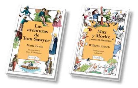 Anaya reedita su añorada colección de clásicos Laurin