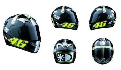 El casco de la reconquista de Valentino Rossi a la venta