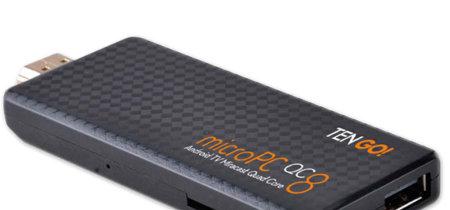 TenGO! microPC QC8, un stick Android TV para darle nueva vida a tu vieja tele