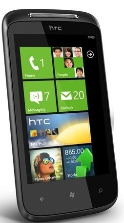 HTC 7 Mozart con Windows Phone 7